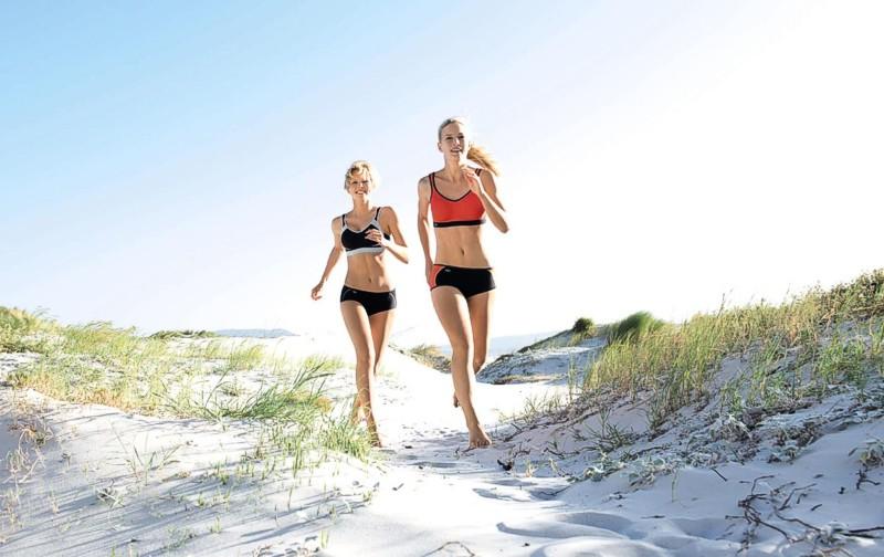 biustonosze sportowe Anita - doskonałe do biegania