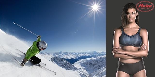 stanik sportowy na narty