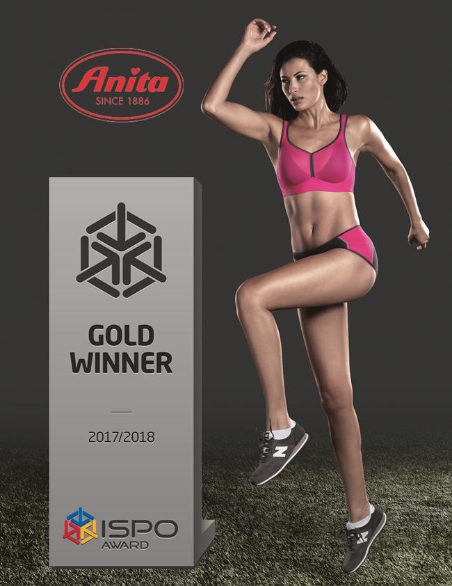 biustonosz sportowy Anita 5544 - Nagroda Ispo 2017