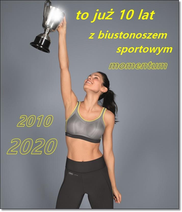 biustonosz sportowy momentum by Anita